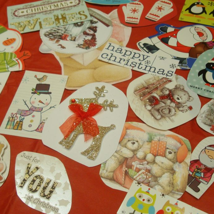 Make homemade Christmas Gift tags: Save money on Christmas necessities