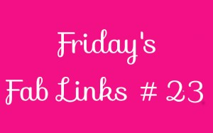 Personal Finance Blog Roundup - Friday's Fab Links #23