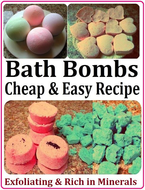 DIY Valentine's Gift - Bath Bombs