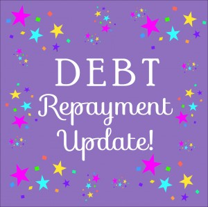 Getting out of debt - March repayment update