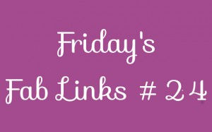 Personal Finance Blog Roundup - Friday's Fab Links 24
