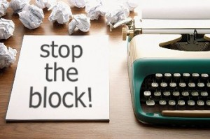 writer's block - ideas to avoid writer's block