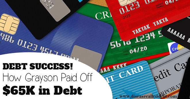 Debt Success Stories: Grayson paid off $65,000 in debt