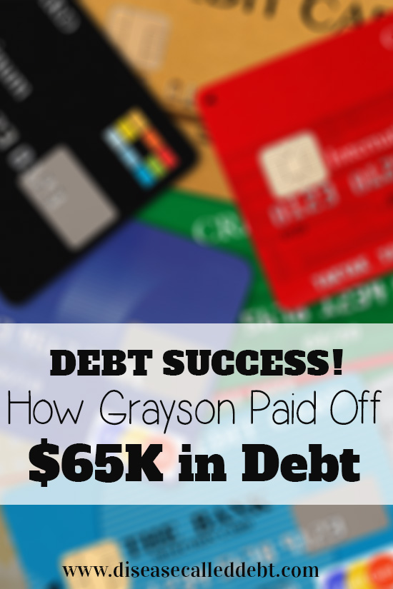 Debt Success Story - How Grayson Paid Off $65 in Debt