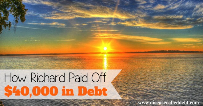 Debt Success Story: How Richard Paid Off $40K in Debt