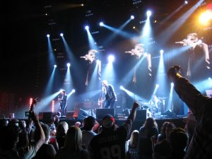 financial sacrifices to get out of debt - giving up gigs and concerts