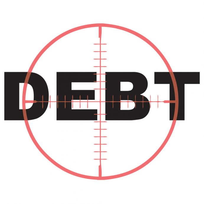 Reaching people in debt