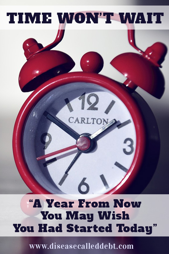 Time Won't Wait - Is it Time for You to Make a Big Change in Your Life?