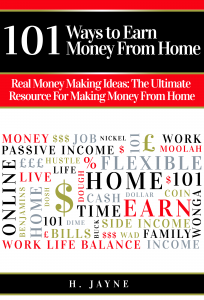101 Ways to Earn Money From Home - New eBook Launch