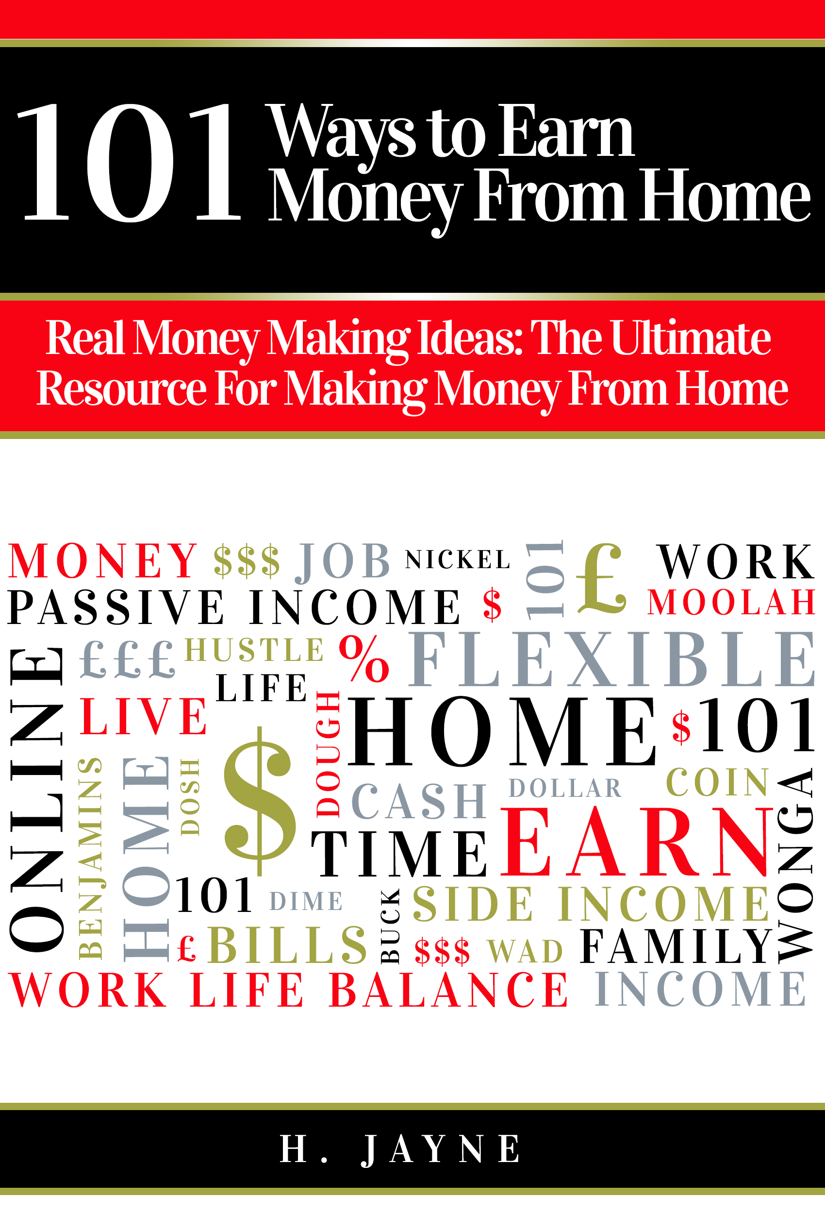 101 ways to earn money from home - new ebook launch!