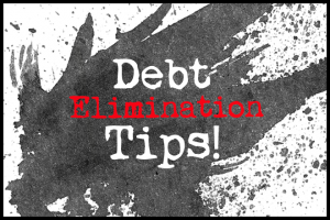 Debt Elimination Tips Series: Keep Your Eyes on the Prize