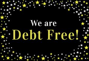 Debt Free at Last!