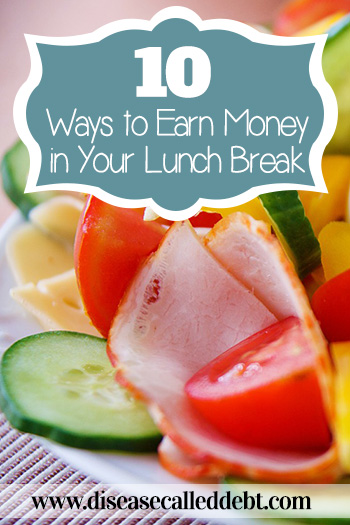 10 Ways to Earn Money in Your Lunch Break