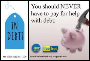Free Debt Help - You Should Never Have to Pay for Help with Debt