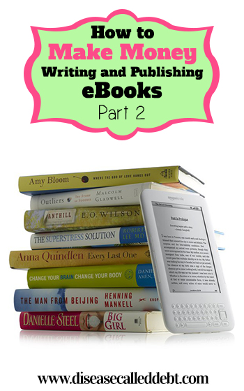 How to make money writing and publishing eBooks Part 2. This post will explain how to format your written ebook ready for converting into an ePub file for Amazon and how to create a top quality eCover for $5 or less.