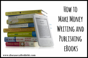 How much money can you make by self-publishing eBooks