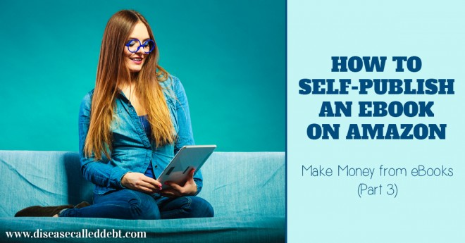 How to self publish an ebook on amazon - publish on KDP