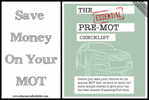 Vehicle Maintenance - Save Money on Your MOT