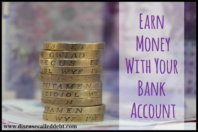 Earn money with your bank account