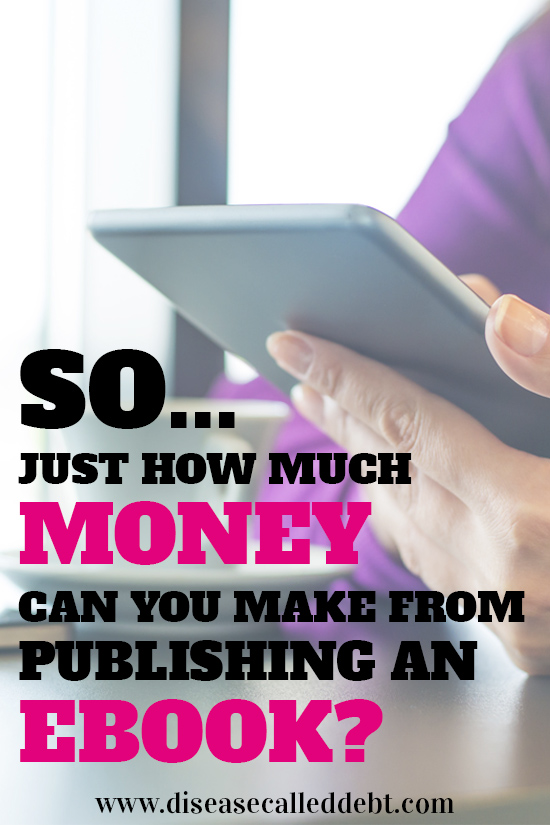 How much money can you make from self-publishing an ebook