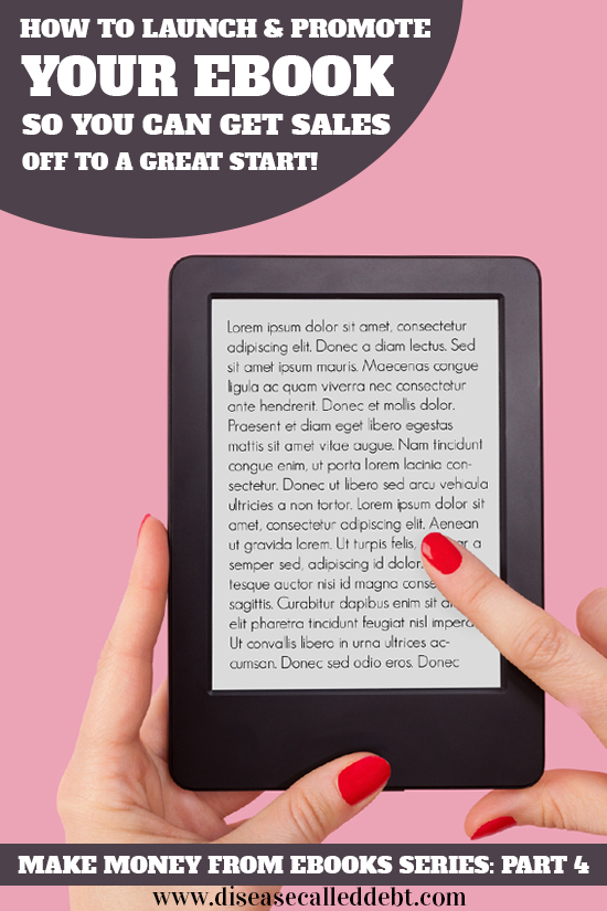 How to promote your ebook - self publish on Kindle part 4