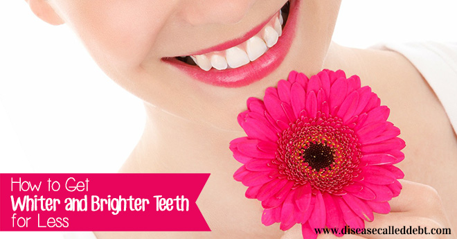 How to get whiter and brighter teeth for less - save money on teeth whitening