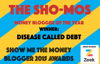 UK Money Blogger of the Year - Disease Called Debt