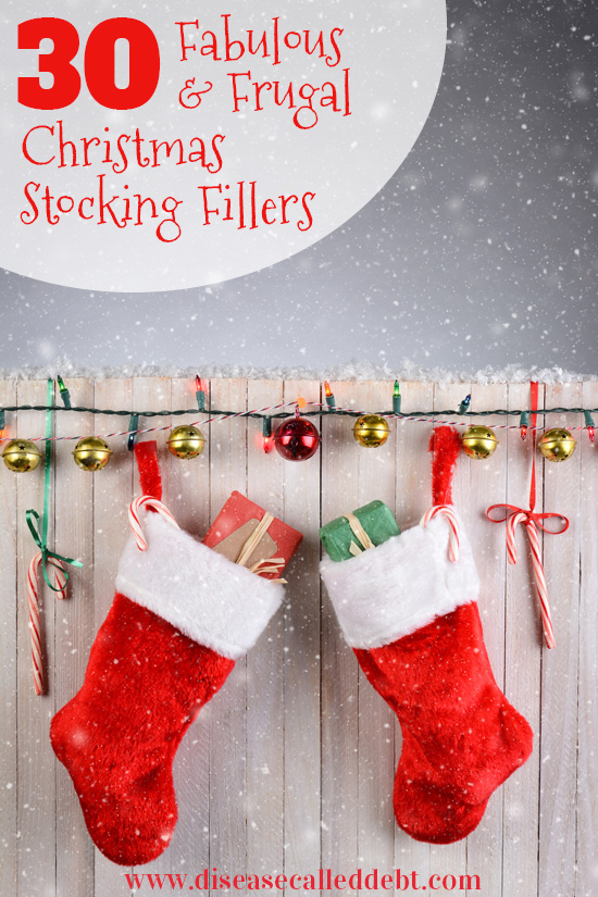 30 Fabulous and Frugal Christmas Stocking Fillers