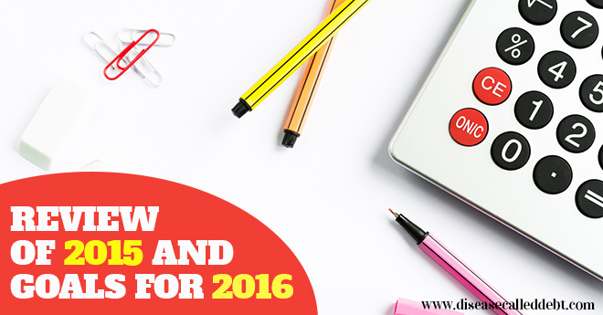 Review of 2015 and Goals for 2016
