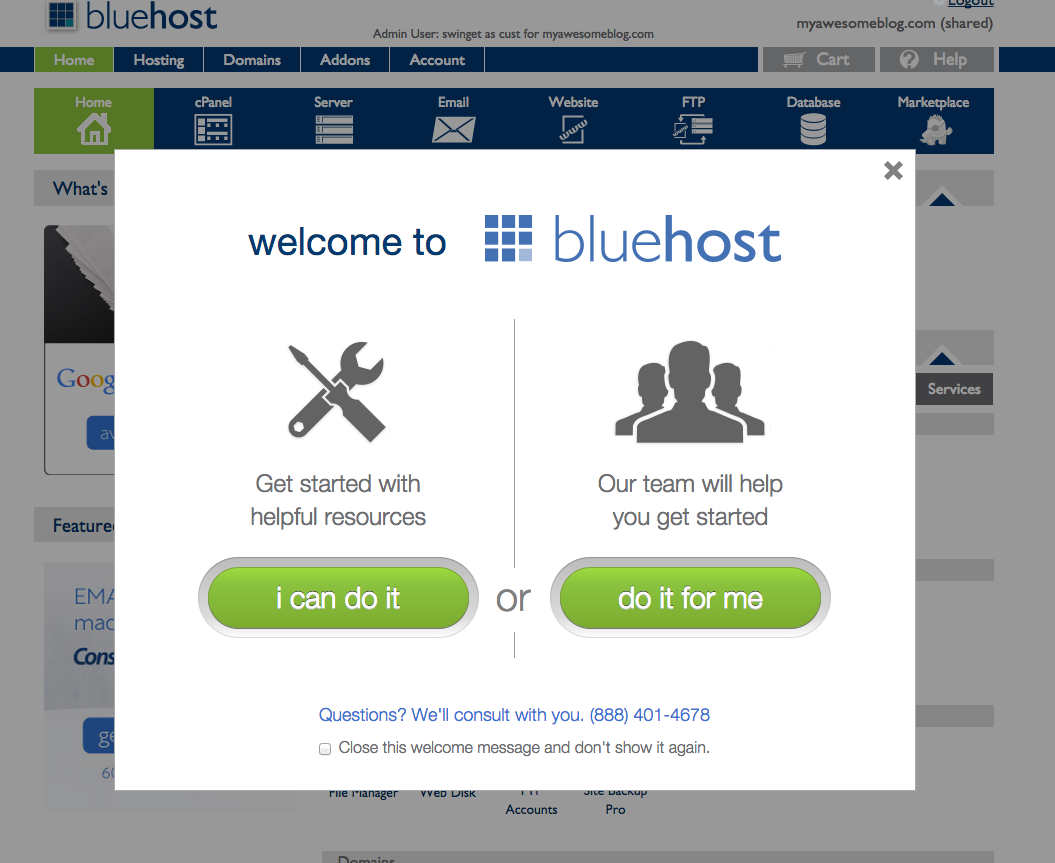 Cheap web hosting - Bluehost and WordPress - how to make money with a blog