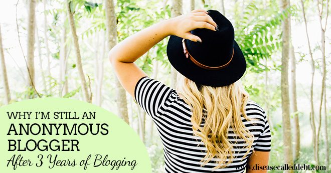 Why I Still Blog Anonymously after 3 Years of Blogging