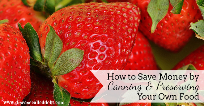 Save Money by Canning & Preserving Your Own Food