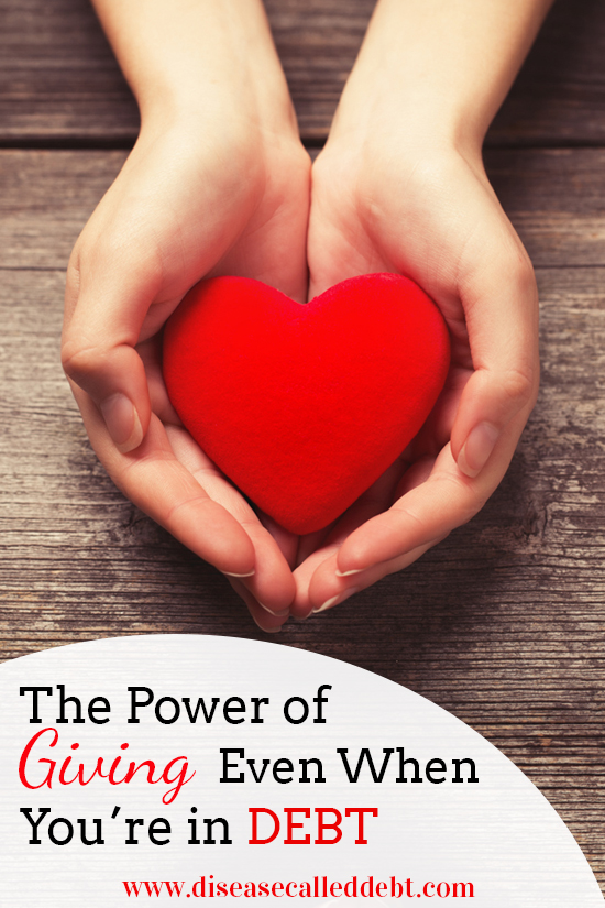 The Power of Giving Even When You're in Debt - Disease Called Debt