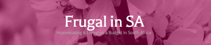 Frugal in SA - Financially Savvy Saturdays