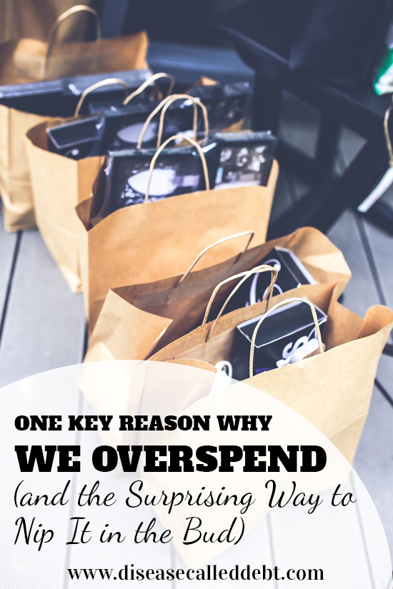 One Key Reason Why We Overspend and the Surprising Way to Nip It in the Bud