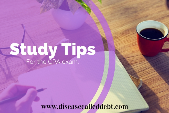 Study Tips for the CPA Exam