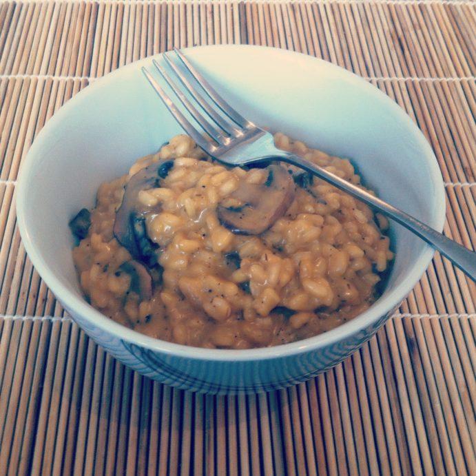 Frugal Feast: Eva's Mushroom Risotto