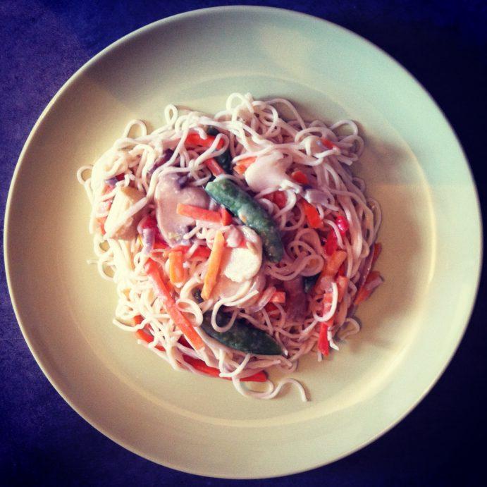 Frugal Feast #3 - Eva's Vegetable Stir Fry