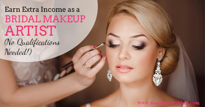 Become A Bridal Makeup Artist Earn Extra Income Disease