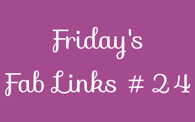 Personal Finance Blog Roundup – Friday's Fab Links #24