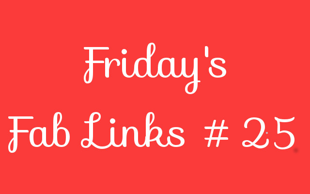 Personal Finance Blog Roundup – Friday's Fab Links #25