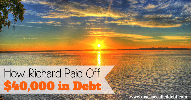 How Richard Paid Off $40K in Debt