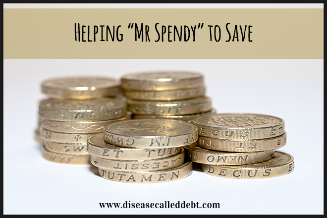 Mr Spendy Can't Save Money