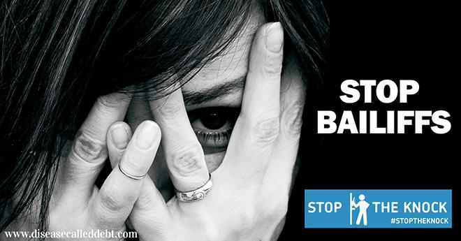 Stop The Knock 2015 - stop debt collectors
