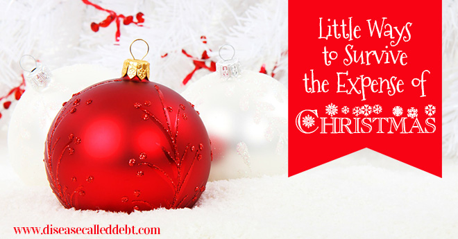 Little Ways You Can Survive the Expense of Christmas