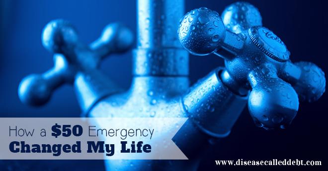 How a $50 emergency changed my life - financial emergency