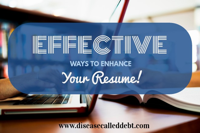 Effective Ways to Enhance Your Resume